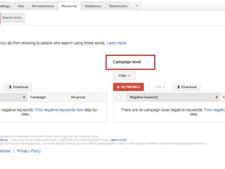 Understanding AdWords Negative Keywords, their Types & How to Use Them